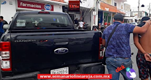 Fuerzas de seguridad detienen a 3 sospechosos en Cozumel, que serían sicarios