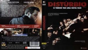 Filme Distúrbio - O Terror Tem Uma Nova Face (Tormented A New Class of Terror) DVD Capa