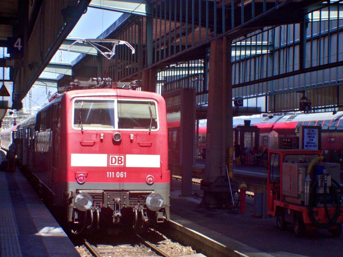 Die BR111 fährt nicht mehr nach Tübingen