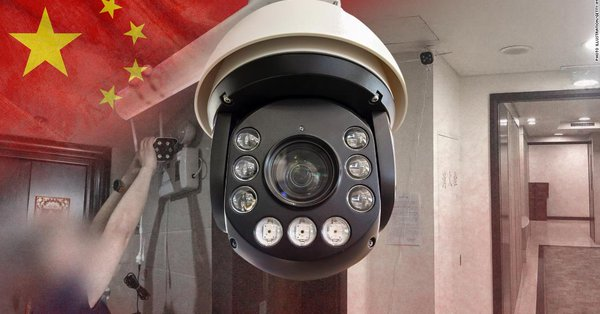 The coronavirus pandemic: China Installing CCTV Cameras from Public areas within the town to the front doors of peoples homes