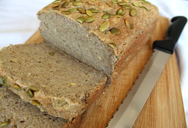 Gluten-Free Hummus Bread