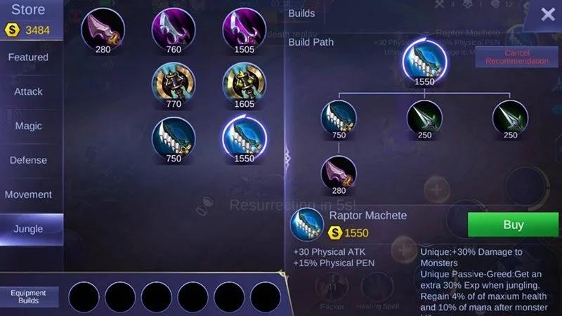update item jungle mobile legends