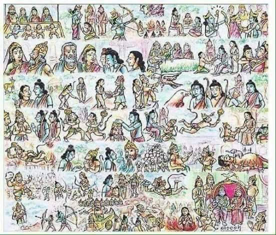 Image result for Ramayanam in one picture