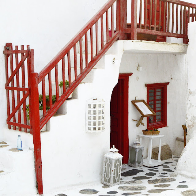 Mykonos, Greece |  full photo credit Lovelaughslipstick Blog