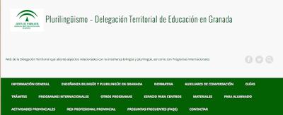 http://blogsaverroes.juntadeandalucia.es/plurilinguismodelegaciongranada/