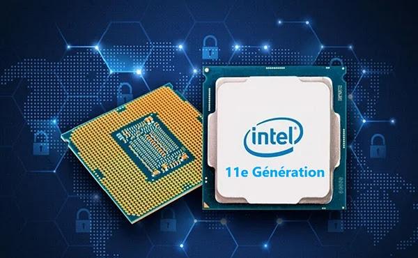 Intel de 11e génération menace AMD Ryzen 5000