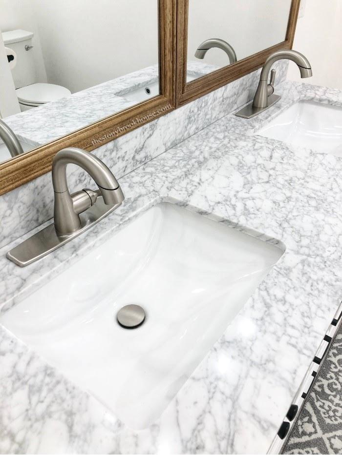 Home Depot Merryfield Vanity Marble Top