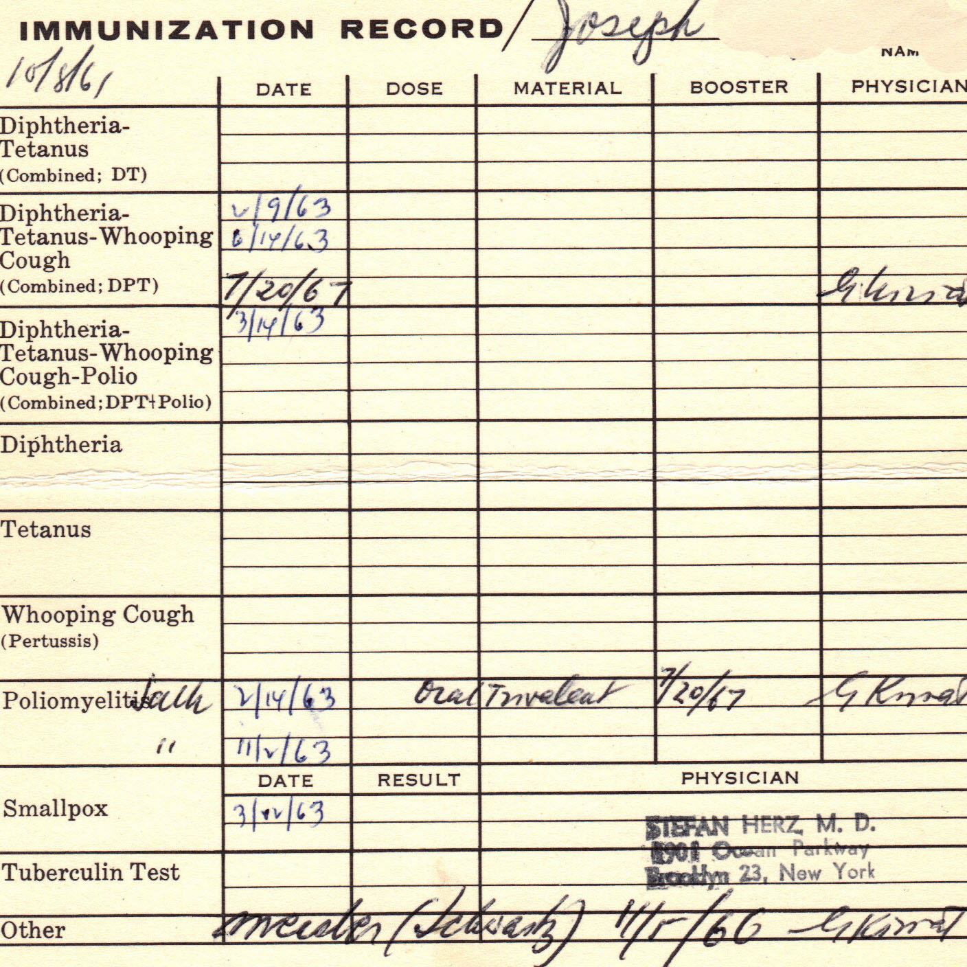 Image result for immunization records. blogspot.com