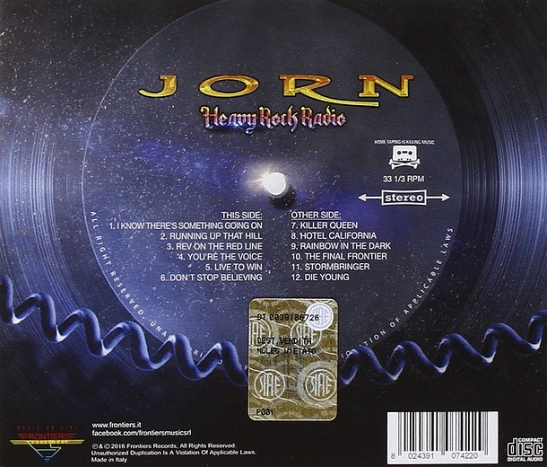 JORN - Heavy Rock Radio (2016) back