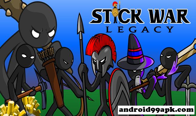 لعبة Stick War: Legacy v2020.1.35 مهكرة بحجم 93 ميجابايت للأندرويد