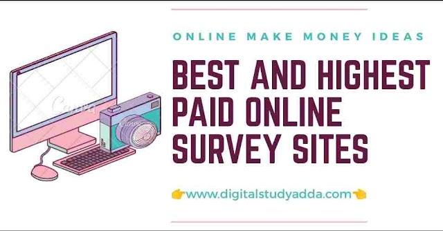 How to find Online Survey Jobs in 2020 ( Best Online make money ideas )