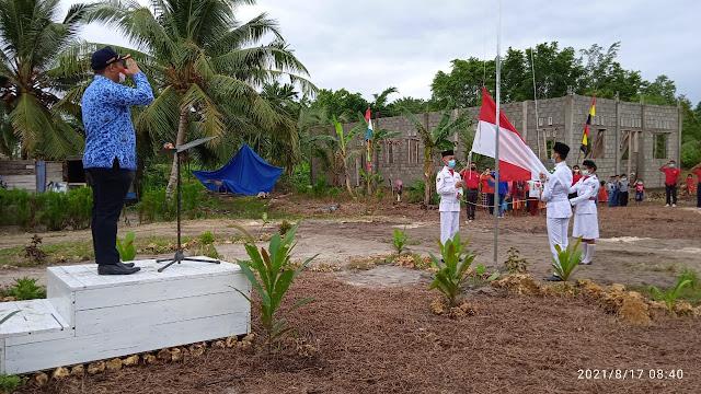 Nelayan Produsen Pantai Utara Nias Gelar HUT Kemerdekaan RI ke-76