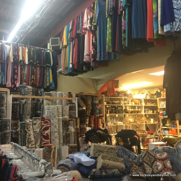 interior of shop in Somali Global Mall in Columbus, Ohio