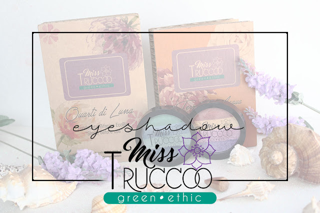 miss trucco eyeshadow palette ombretti terra  acqua  packaging terra acqua mix perfetto viola blu verde bronzo pareri