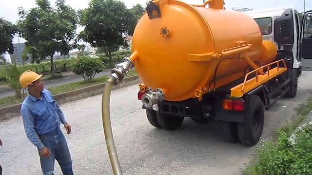 Lựa chọn xe hút bể phốt tại Nam Định