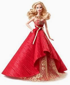 Barbie Collector 2014 Holiday.