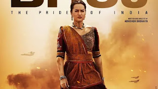 sonakshi sinha first look from 'BHuj: the pride of india' is unveiled