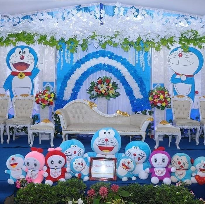 41 Dekorasi Pernikahan Doraemon Yang Unik Dan