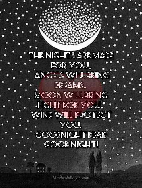 Images Of goodnight with quotes
