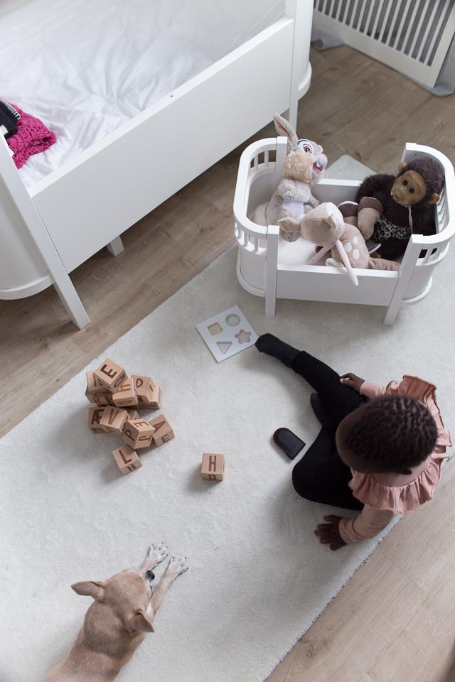 Villa H, lastenhuoneen sisustus, interior, sebra interior, nukensänky