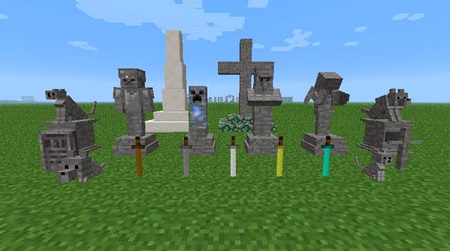 Gravestone Mod tumbas