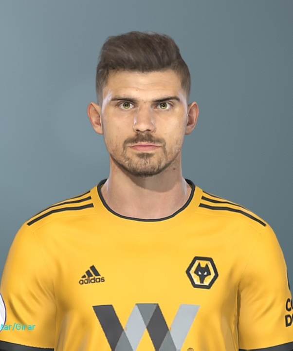 Pes 2019 Faces Lucas Moura By Hugimen: PES 2019 Faces Ruben Neves By Lucas Facemaker