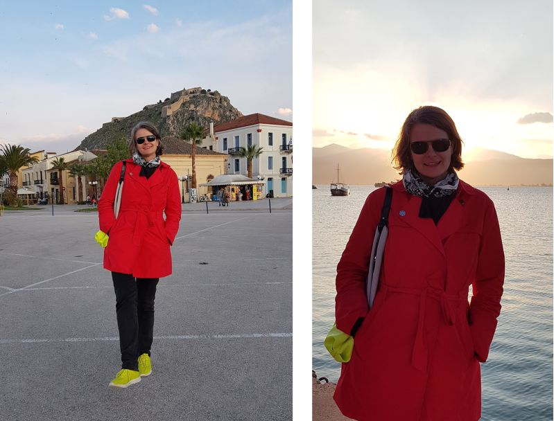 Hafen Nafplio Peloponnes April 2019
