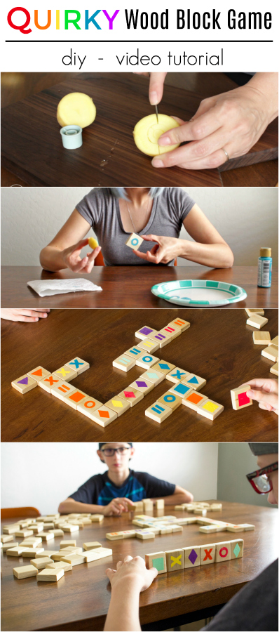 diy how-to wood wooden qwirkle game board craft video tutorial.