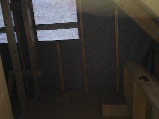 paroprepustna folija - protiveterna zaščita v leseni hiši