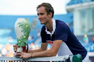 TENIS (Masters 1000 Cincinnati masculino 2019) - Medvedev irrumpe ganando su primer Masters 1000