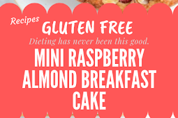 Gluten free Raspberry Almond Breakfast Cake #glutenfree
