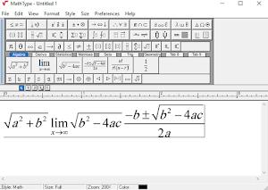 برنامج كتابة الرموز الرياضية في الوورد