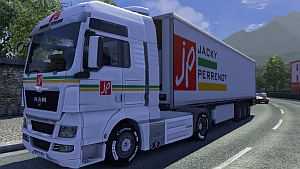 Jacky Perrenot trailer and skin for MAN