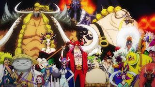 ワンピースアニメ 百獣海賊団 | ONE PIECE Beast Pirates