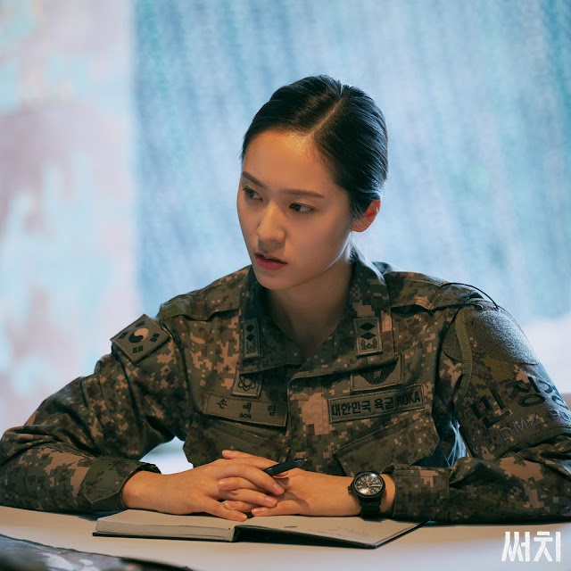 Knetz were go crazy over how good F(X) Krystal's visual with military uniform for upcoming drama OCN 'Search'!