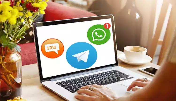 طريقة الرد على جميع الرسائل التي تصل الى هاتفك عن بعد بواسطة حاسوبك