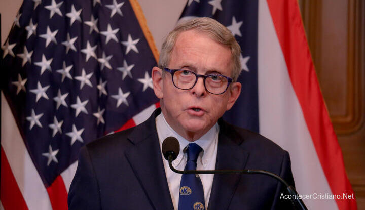 Gobernador de Ohio Mike DeWine