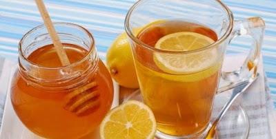картинка худеем с помощью лимона и меда