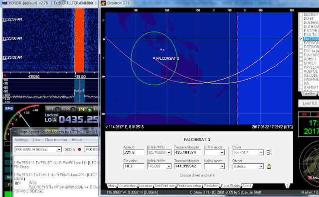Receive signal again start 17:22 UTC