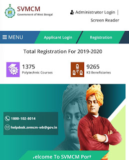 Swami Vivekananda Merit Cum Means scholarships Eligibility