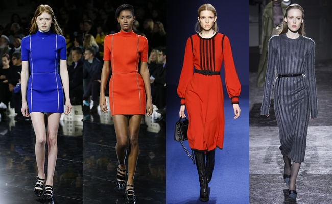 Best of PARIS Fashion Week Fall 2016.Paris fw fall 2016:Couregges,Andrew Gn,Nina Ricci.