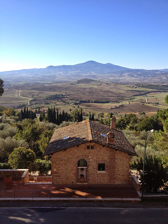 Ryan traveled to Montepulciano in southern Tuscany with his wine-pairing class to learn more about the grapes of the region. (Photo courtesy of Ryan Armstrong)