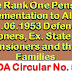 One Rank One Pension Implementation to All Pre- 01.06.1953 Defence Pensioners, Ex. State Force Pensioners and their Families- PCDA Circular No. 591