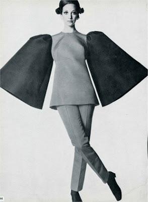 Marisa Berenson - Photo by Irving Penn, Vogue Italia 1968