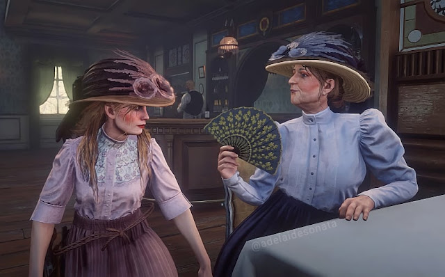 red dead redemption 2 fashion  history