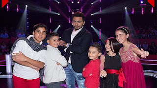 فريق تامر حسنى the voice kids