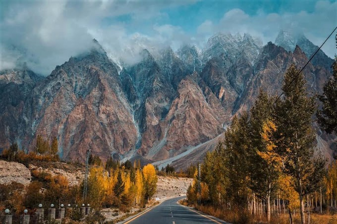 Karakoram Highway near Passu, Gojal