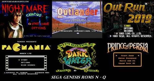 Sega Genesis Roms