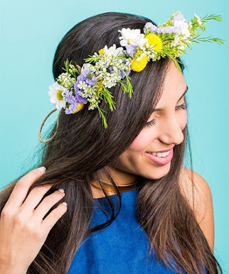 K'Mich Weddings - wedding planning - bridal headpiece - floral headpiece - trendhunter