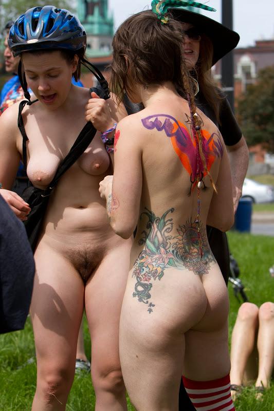 naked girl in parker